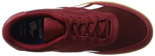 Reebok Royal Bonoco Suede, Sneakers Basses Homme Multicolore (Collegiate Burgundy / White / Gum)