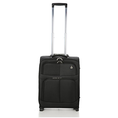 aerolite taille maximale ryanair bagage cabine main 55x40x20 valise souple l ger 2 roulettes. Black Bedroom Furniture Sets. Home Design Ideas