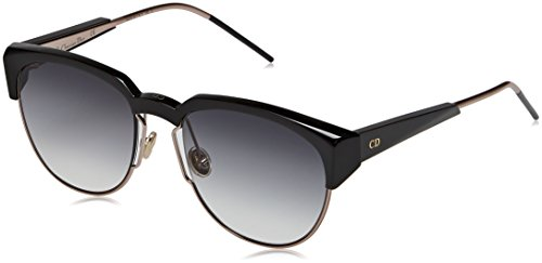 Christian Dior Diorspectral R0 01M, Gafas de Sol para Mujer, Negro (Black Gd Rose/Grey Ts), 53 Christian Dior