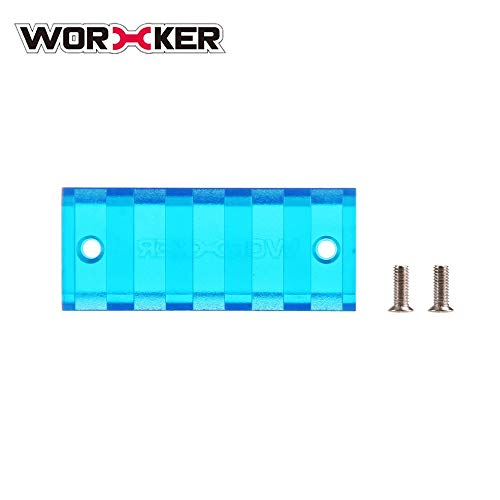 Preisvergleich Produktbild WOERKER Mod Mehrere Längen Picatinny Multi-Slot-Schiene Mount Scope Base für 3D gedruckte Form für Nerf Blaster Modification