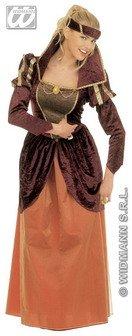 Kostüm-Set Mittelalterliche Königin, Größe (Renaissance Kleid Günstige)