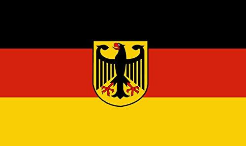 Sonia Originelli Fahne Flagge 90 x 150cm Fussball EM Party WM Handball Farbe Deutschland mit Adler (Usa-handball)