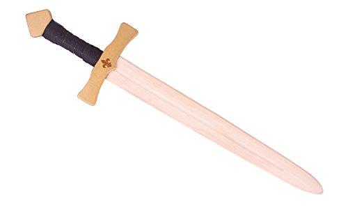 ca. 60 cm lang Spielzeug Holz Schwert ()