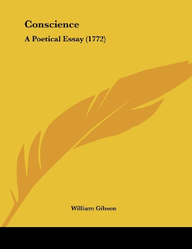 Conscience: A Poetical Essay (1772)
