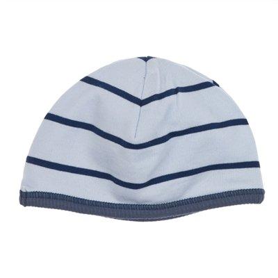 90bf10309455 Bonnet Naissance Bébé en coton PETIT BATEAU Bleu Taille   0 1 mois 39-