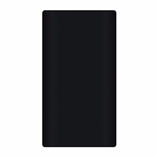 Heartly Strip Style Soft Silicone Pouch Protector Cover Case For 10000mAh Mi Power Bank 2 (Version 2) - Rugged Black  available at amazon for Rs.299