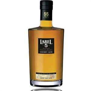 Label 5 Sherry Cask Finish Reserve 55 Blended Scotch Whisky 0,7 Liter