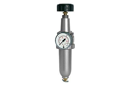 Filterregler »Standard« G 1/2 | 0,5-16 bar, inkl. Manometer | Metallbehälter | manuelles Ablassventil RI-678.41M -
