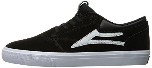 Lakai  Griffin, Herren Skateboardschuhe braun braun Black / White