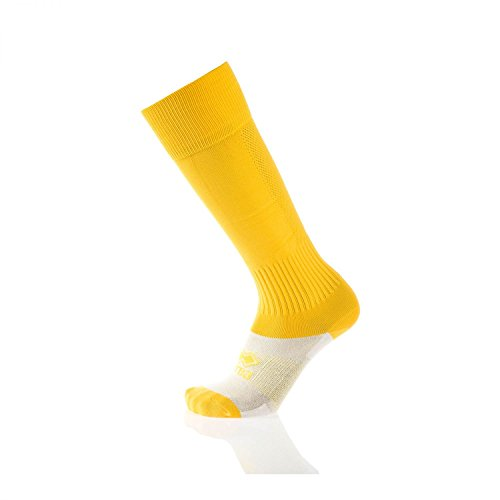 TRANSPIR Stutzensocken · UNISEX Stutzen für Erwachsene & Jugendliche · ERREÀ Fußball Hockey Volleyball Running etc. · WETTKAMPF Sportsocken in Gr. 42-50 Größe ONESIZE, Farbe gelb -