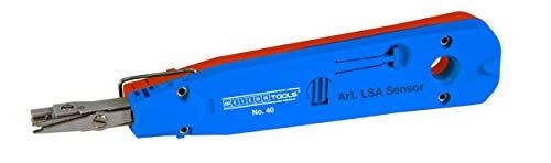 Weicon 52000040 Sensor No. 40 Anlegewerkzeug zur Beschaltung von LSA-Baureihen, blau/rot