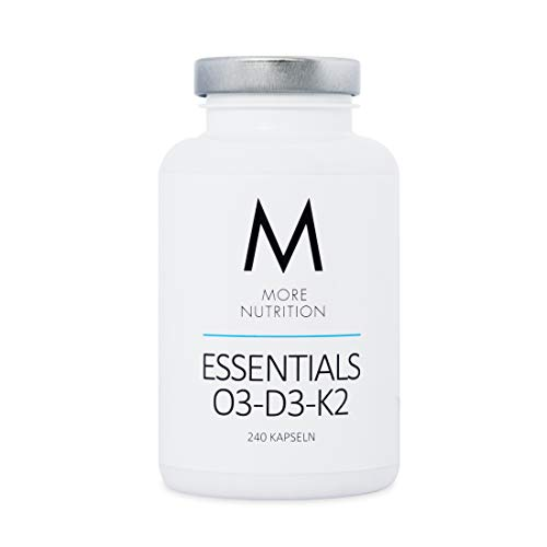 More Nutrition Essentials O3-D3-K2-240 kapseln