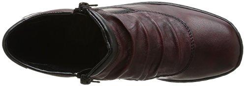Rieker  L6052 35,  Stivali donna Rosso (Medoc/burgund/schwarz / 35)