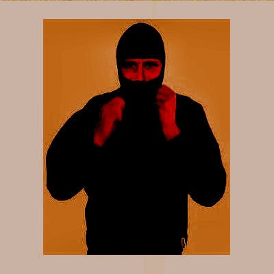 CI Ninja Hoodie Sweatshirt mit Kapuze Einsatzpullover SWAT Kapuzenpulli mit Sturmhaube Schwarz Größe S-XXL (L)