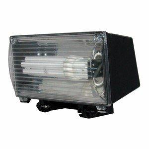 Zwei-lampe Flutlicht (z8F- energiesparende Dusk to Dawn Sicherheit Flutlicht 2x 26W Lampen C/W Fotozelle)