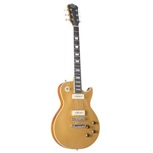 E-Gitarre LSC Gold Top P90