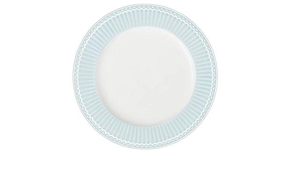 GreenGate Alice piatto/da tavola colore/celeste pallido 26/cm