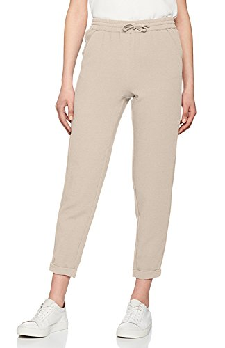 ONLY Damen Tapered Hose onlMADELINE Track Pants OTW 15129517, Gr. 38 (Herstellergröße: M), Beige (Peyote)