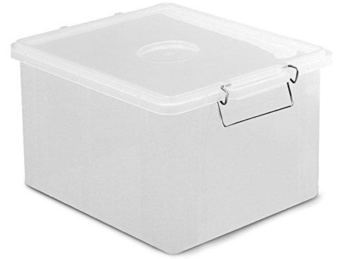 Giganplast Box Cassetta, Plastica, Bianco