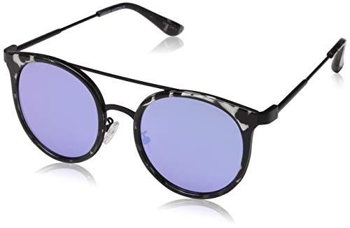 Quay Eyewear Unisex-Erwachsene Sonnenbrille Kandy Gram, Mehrfarbig (Blacktort./Blue), 140