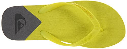 Quiksilver Molokai New Wave - Sandales homme AQYL100053 Vert - Green/Green/Green