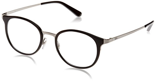 Ray-Ban Damen Brillengestell 0rx 6372m 2502 50, Grau (Brushed Gunmetal)