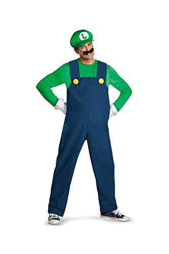 Generique - Kostüm Luigi für Erwachsene hochwertig M