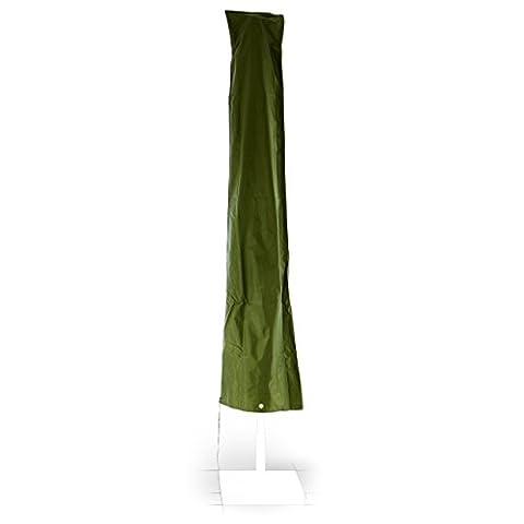 Schutzhülle aus robustem witterungsbeständigem Polyestergewebe mit Reißverschluss für Sonnenschirme Ø 4