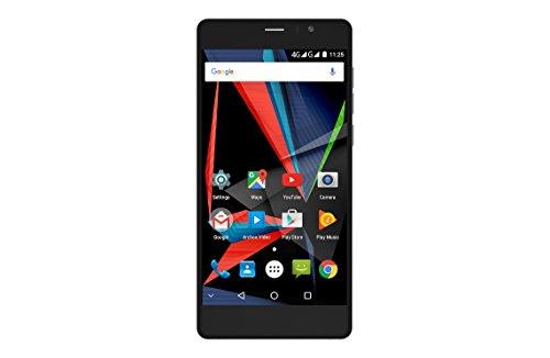 Archos Diamond Selfie Smartphone débloqué 4G (Ecran: 5,5 pouces - 64 Go - Double SIM - Android) Noir