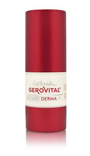 Gerovital H3 Derma+ intensive Anti-Falten Augencreme. Pharmazeutisches Konzept 2015 praktischer Spender 15ml C388