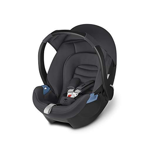 cbx Babyschale Aton, Gruppe 0+ (0-13kg), Ab Geburt bis ca. 18 Monate, Comfy Grey