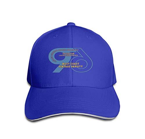 Xunulyn Unisex Adjustable Flat Hat Baseball Caps Chicago Superior Athletic Graphic Design Alphabet Numbers Typography Print