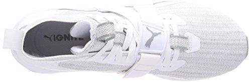 Croce puma Uomo Pattino 2 Evoknit Bianco Accendere white Cava Puma w8qIPvq
