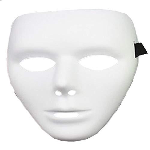 NUOKAI Halloween Horror Maske Prinzessin Maske Männlich Street Dance Handbemalte Maske Männer dünn