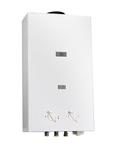 Eccotemp ECCL12i30 CEI-12 Propan Gas Durchlauferhitzer, 20000 W, 3 V, Weiß