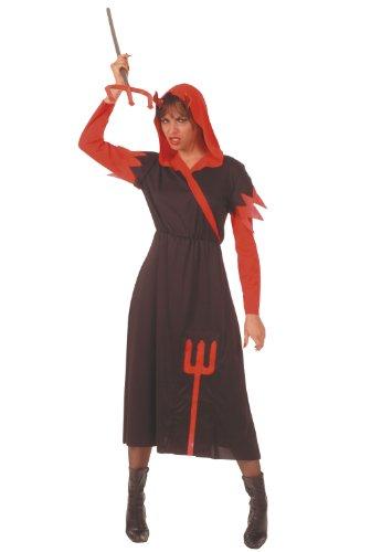 Imagen de cesar  disfraz de diablesa recatada con tridente para mujer adulto