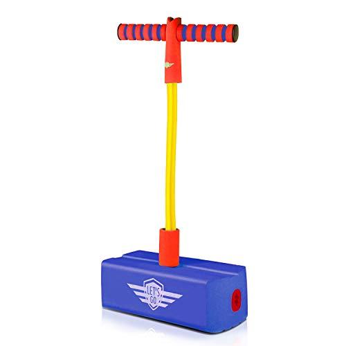 Indoor-Spielzeug für 5-15 Jahre alte Jungen Mädchen Aktive Kinder, Top Toy Schaum Pogo Jumper Stick für Kinder Erwachsene Teenager-Mädchen Jungen Geschenke für 5-12 Jahre alte Jungen Mädchen TTFPJ01