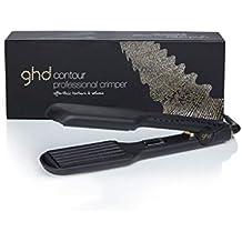 ghd contour - Ondulador profesional, calentamiento en 30 segundos a 180ºC, placas contorneadas y