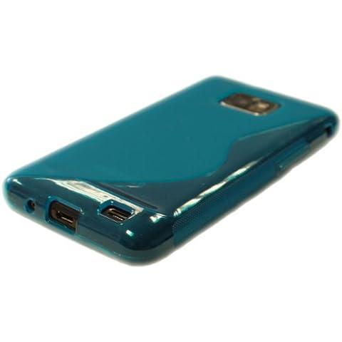 S-Line Design custodia guscio in silicone per Samsung Galaxy S2