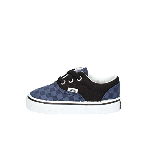 Vans Era - Scarpe Primi Passi Unisex – Bimbi 0-24, Multicolore (checkerboard/dress Blues/black), 19 EU Multicolore (checkerboard/dress Blues/black)