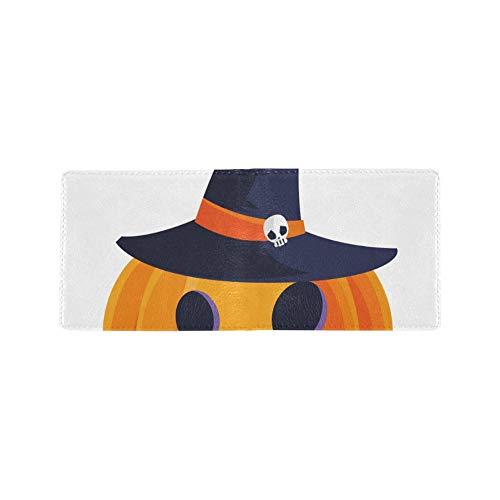 Hexenhut Design Halloween Cool Lether Visitenkarte Münze Id Beutel Reise Clutch Geldbörse Geldscheinklammer Brieftasche Fall Für Mädchen Männer Und Frauen Vordere Tasche ()