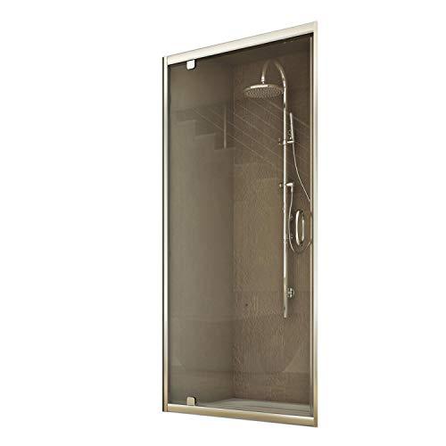 Porta doccia da 80 cm H185 trasparente modello Sintesi