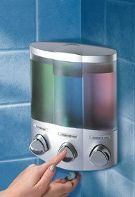 aviva-trio-distributeur-de-savon-gel-douche-shampoing-finition-satinee-argentee