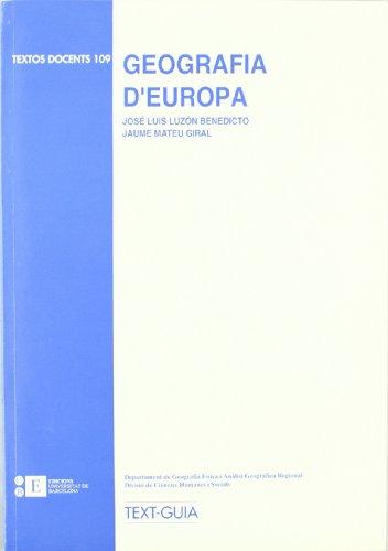 Geografia D'Europa
