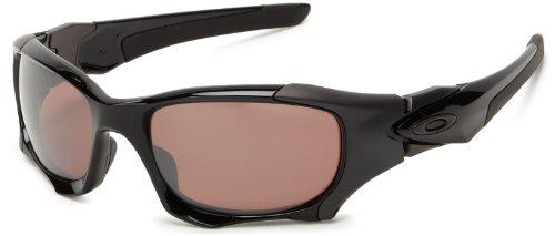 Oakley Sonnenbrille Pit Boss II, Matte Black/Black Iridium Polarized, Uni