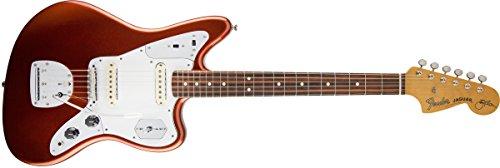 Fender 0116400750 Johnny Marr Jaguar Rosewood Griffbrett Metallic KO E-Gitarre (Jaguar Fender Bass Guitar)