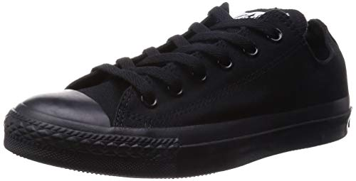 Converse Chuck Taylor All Star, Unisex - Erwachsene Sneaker, Schwarz (Monocrom), 39 EU