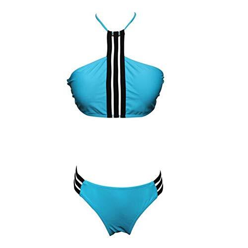 Maillots de Bain Pure Color Sexy Bikini Laçage Fil De Maillot De Bain Petit Poitrine Réunis Gros Seins Mince Chaud Printemps Maillot De Bain Femmes Filles Compétitif Maillots De Bain