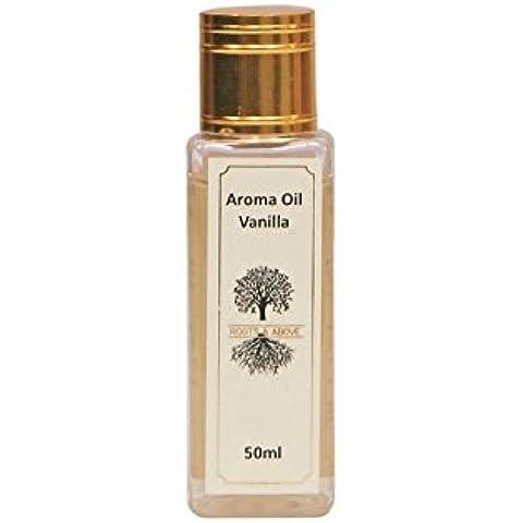 Perfume Fragancia de vainilla pura aromaterapia esencial natural 50 ml de aceite de aceite del aroma