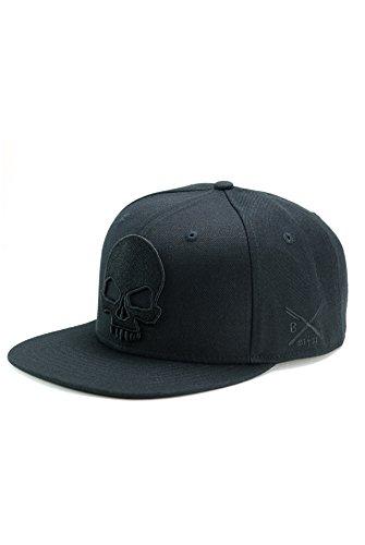 BADLY - CAP SKULL BLACK